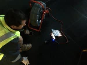 Drain camera inspections, ridgid camera