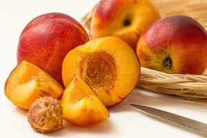Peach pits are one of the worst items to throw down your garbage disposal.